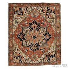 Serapi Carpet - Price Estimate: $12000 - $13000