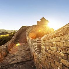 Standing for centuries and stretching over 13,000 miles, the wall is one of the engineering marvels of the world.