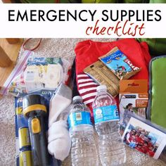 Are you ready for an emergency? It can strike when you least expect it. Get ready with this emergency supply checklist.  Get this Emergency Supplies Checklist http://lifeasmom.com/emergency-supplies-checklist/