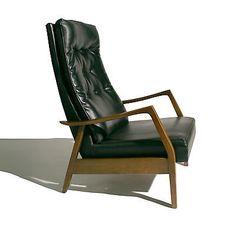 Mid Century Scoop Chair Crazy Price Mid-century Modernism Milo Baughman For James Inc