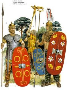 Arms and armor of Celtic warriors, 2nd century B.C.