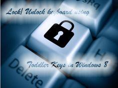 How To Lock Keyboard in Windows 8