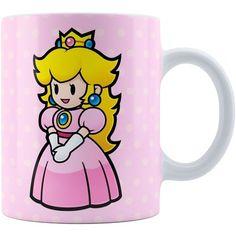Caneca Super Mário Bros Princesa Peach 02