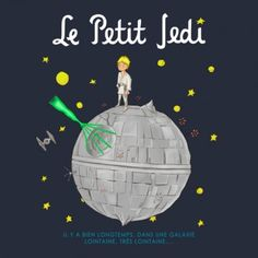 Things We Saw Today: That's No Little Prince… That's a Jedi on a Space Station! - Use the feels, Teepublic.