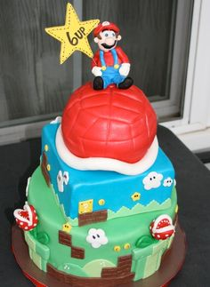 Cakes by Jyl: Super Mario Cake