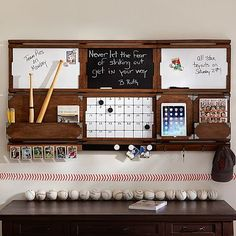 Organize It System, Cork Strip, Rustic Wood at Pottery Barn Teen - Bulletin Boards - Wall Organization Boards - Schedule Boards Pb Teen, Teen Boys, Office Supply Organization, Desktop Organization, Cubicle Organization, Organization Station, Organizing Life, Home Office Design, Office Decor