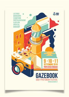 Poster I create for a photobook festival in Sicily, Italy