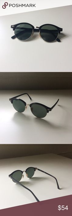 0f216a2cf200 Ray-Bans Clubround Classic Sunglasses Barely worn and in great condition Ray -Bans.