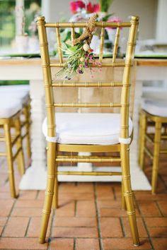 Easter Brunch Chair Ties
