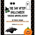 FREE The Day After Halloween Creative Writing Activity if your students are a little sluggish from candy overload the next day. Cute!