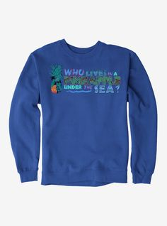 SpongeBob SquarePants Pineapple Under The Sea Sweatshirt