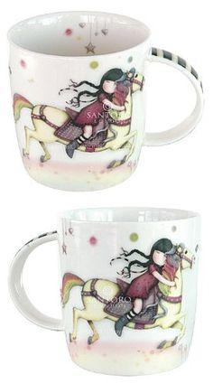 """""""The Runaway"""" Mug. Gorjuss Girls Merchandise from Santoro London"""