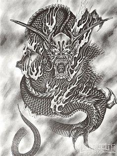 Desenhos de Tatuagem Oriental #5 ~ Links da WEB