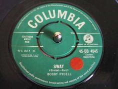 Bobby Rydell -*Sway* - 1960 YouTube My favorite Rydell song.