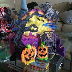 Halloween project perler beads by Theresa Walunas