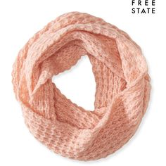 Aeropostale Free State Infinity Scarf (84475 PYG) ❤ liked on Polyvore featuring accessories, scarves, fantasy pink, loop scarves, pink scarves, pink shawl, infinity scarves and pink infinity scarf