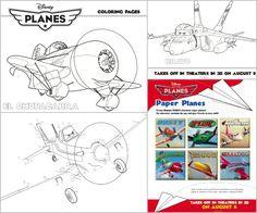 Disneys PLANES Coloring Activity Sheets OMG Free Disney Pixar