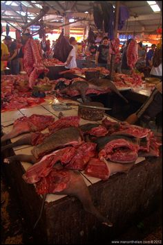 Tomohon Traditional Market, North Sulawesi, Indonesia  WARNING: GRAPHIC IMAGES OF DEAD ANIMALS AHEAD.There's another one with a scene like this…More animal for sale