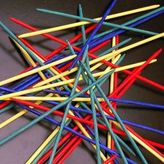 As an 8-year-old I spent hours playing PICK UP STICKS!