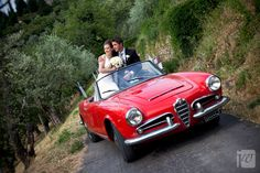 Alfa Romeo -- my dad bought my mom one of these when I was little I remember riding in it like it was yesterday:)