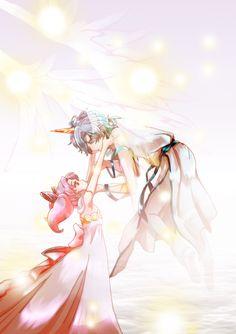Chibi Usa and Helios