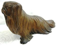 Hey, I found this really awesome Etsy listing at https://www.etsy.com/listing/177390694/vintage-pekingese-bronze-cold-cast