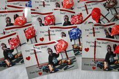 "Dylan's 2012 Valentines  Hockey Theme  (You're ""Top Shelf"" Valentine)"