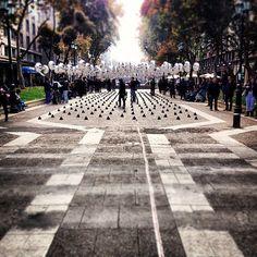 Intervenção urbana com balões / Universidad Mayor,© Marco Beovic