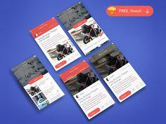 Mobile UI -  News And Detail