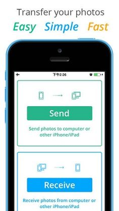 This is one of the easiest photo transfer utility apps I have ever used! Try it!
