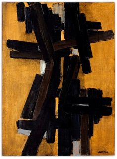 Explore amazing art and photography and share your own visual inspiration! Tachisme, Franz Kline, Abstract Expressionism, Abstract Art, Abstract Flowers, Abstract Paintings, Spirited Art, Art Moderne, Art Graphique