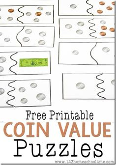 FREE Coin Value Puzzles