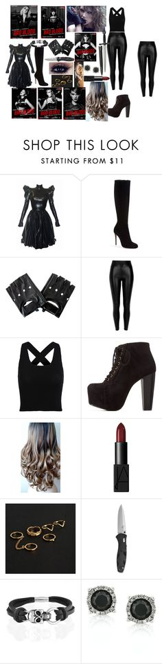 """""""cuz baby know we got bad blood"""" by lana21love ❤ liked on Polyvore featuring Chicas Fashion, Christian Louboutin, Black, Charlotte Russe, NARS Cosmetics, CO, Bling Jewelry and Mark Broumand"""