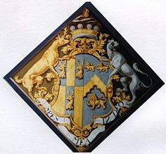Hatchment of Catherine Smythe wife of Henry Roper, Baron Teynham Church of Saints Peter and Paul, Lynsted. St Peter And Paul, Dance Rooms, Coat Of Arms, Decoration, Funeral, Display, Badges, Flags, Artist