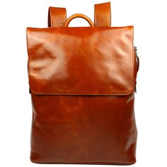 Mens Practical Chic Stylish Large Leather Backpack