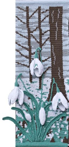 Snowdrops Wall Hanging