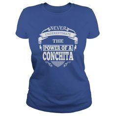 CONCHITA - Never underestimate the power of CONCHITA - CONCHITA name - CONCHITA Name Gifts - birthday gifts for CONCHITA - CONCHITA Shirts - CONCHITA T-shirt - Best Sellers #gift #ideas #Popular #Everything #Videos #Shop #Animals #pets #Architecture #Art #Cars #motorcycles #Celebrities #DIY #crafts #Design #Education #Entertainment #Food #drink #Gardening #Geek #Hair #beauty #Health #fitness #History #Holidays #events #Home decor #Humor #Illustrations #posters #Kids #parenting #Men #Outdoors…