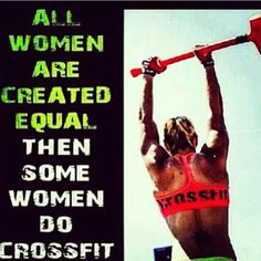 crossfit women are awesome