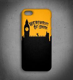 Case de celular Werewolves of London - marca independente brasileira NØT ORDINARY;