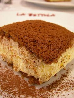 This doesn't look as amazing as the layer cake I make, but it might be easier! Italian Tiramisu Cake Recipe Picture