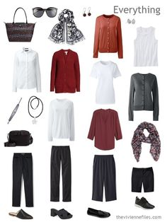 Packing for a Car Trip, with a Gradual Change of Temperatures - The Vivienne Files Travel Wardrobe, Capsule Wardrobe, Wardrobe Ideas, Car Travel, Travel Wear, Travel Outfits, Travel Fashion, Travel Packing, Travel Couple Quotes