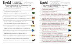 spanish stem change verbs time 12 sentences worksheet sentences spanish and stems. Black Bedroom Furniture Sets. Home Design Ideas