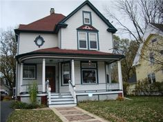 SOLD - 715 North County Street, Waukegan, IL 60085 — 110 Year Old Victorian Painted Lady in The Historical District Of Waukegan!!  This Lovingly Care For Home Is More Then Just A Pretty Face. Ceilings On First Floor Are Over 9 Feet Giving A Wonderful Grand Open Feeling. The Kitchen Is Very Nicely Updated, The Bathrooms-Upstairs The One in Basement Have Been Remodeled, Even Some Heated Floors.  Nice Enclosed Sun Porch  A Great 2 Car Garage. Come See For Yourself!!