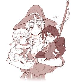 Magi. Yunan with baby titus and judal