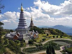 South Chiang Mai in Doi Inthanon National Park. The highest point in Thailand where the seventh and last true king of the north had his remains placed in hopes to protect the land around this mountain. #backpackingpictures #joinusnow #backpacking #travel #camping #outdoors #wanderlust #adventure http://bit.ly/2B4ukkJ