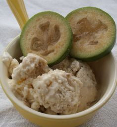 Easy Feijoa Icecream Recipe