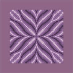 Study this bargello for possible adaptation/conversion to a quilt pattern instead of needlepoint Bargello Quilt Patterns, Bargello Needlepoint, Bargello Quilts, Needlepoint Stitches, Quilting Patterns, Cross Stitching, Cross Stitch Embroidery, Embroidery Patterns, Broderie Bargello