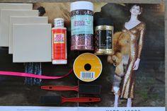KS Glitter Coaster DIY