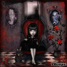 fantasy gothic blingee