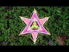 Mandala Lirio de la Mañana - YouTube Mandala Art, God's Eye Craft, Kids Market, Gods Eye, Magic Circle, Sustainable Design, String Art, Interior Design Living Room, Design Trends